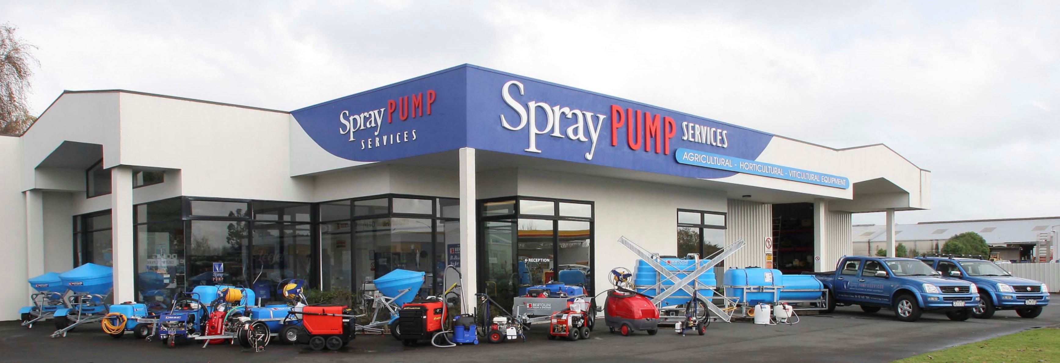 Spray Pump Services Building