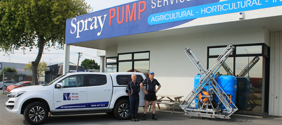 Spray Pump Services Servicing Team